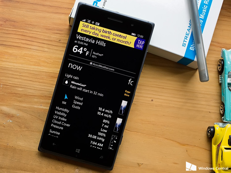 Top Rated Windows Phone Weather Apps to track Spring Showers